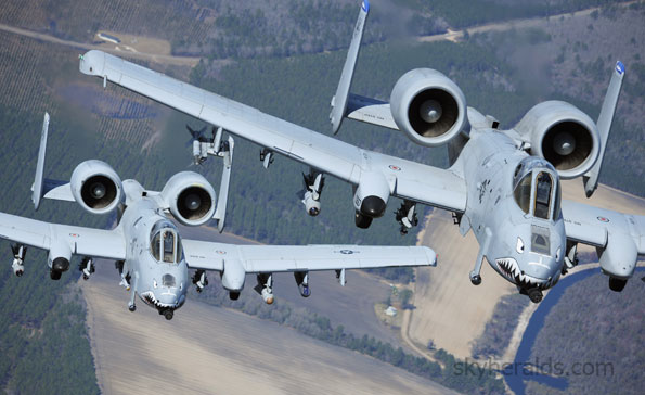 Boeing to Build 56 Additional A-10 Wings for USAF