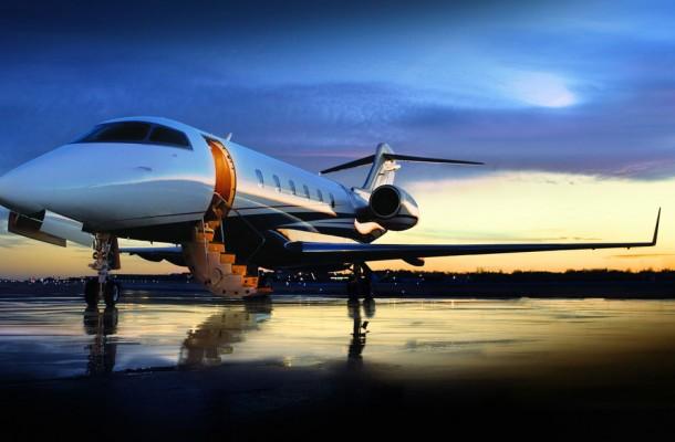 Bombardier-Jet