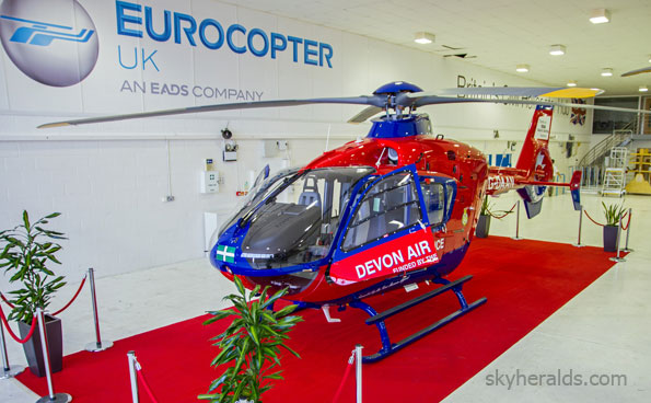 Eurocopter EC135 Doubles Medical Airlift Capabilities