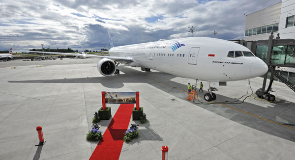 Garuda Indonesia Celebrate Delivery of First 777-300ER