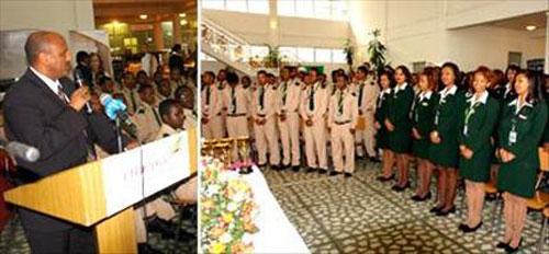 Ethiopian Airlines Graduates 99 Trainees