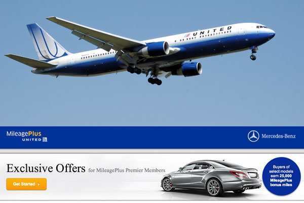 United Airlines and Mercedes-Benz USA Team Up to Bring Unique Benefits to Frequent Flyers